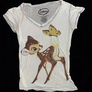 Bambi Disney tissue t shirt